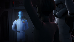 Pryce reports to Thrawn FotD