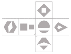 Spike dice template