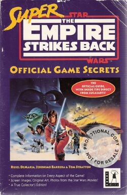 Super Empire Strikes Back Official Game Secrets