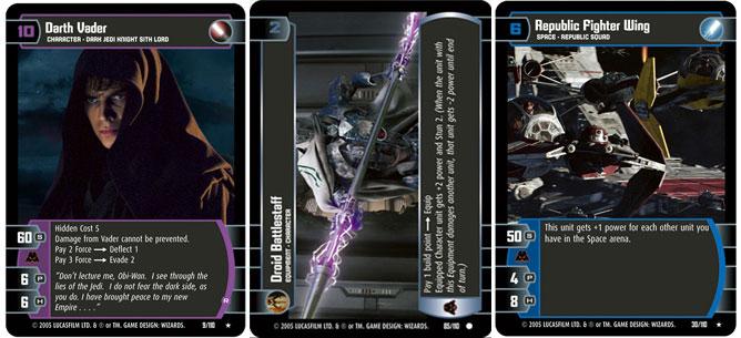 Star Wars TCG ROTS Venator-Class Destoyer kaartspellen