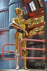C3PO Star Tours