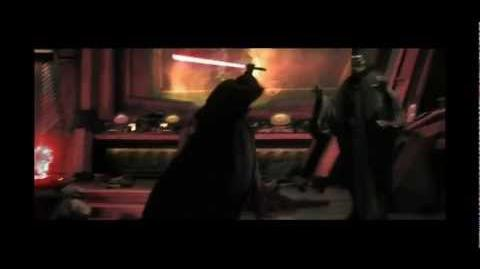 Darth Vader kills Viceroy (Red Saber)