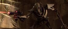 Grievous blaster