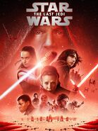 Star Wars Episode VIII The Last Jedi 2019 release cover