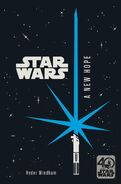 A New Hope 40th anniversary novel sticker