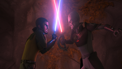 Kanan vs Inquisitor vision