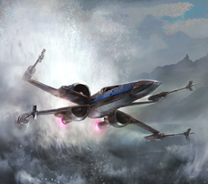 Blue Ace T-70 X-Wing TFACS