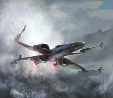 Blue Ace T-70 X-Wing TFACS