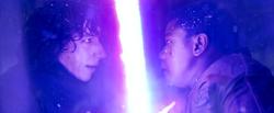 Kylo Ren duels Finn