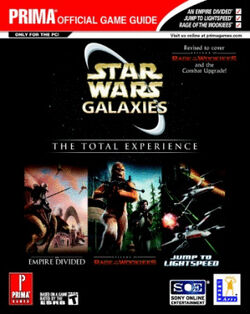 Star Wars Galaxies - The Total Experience - Prima Official Game Guide