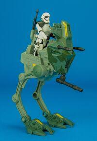 Mobile assault walker