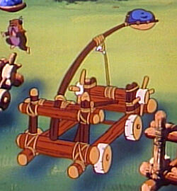 Ewok Catapult Cartoon