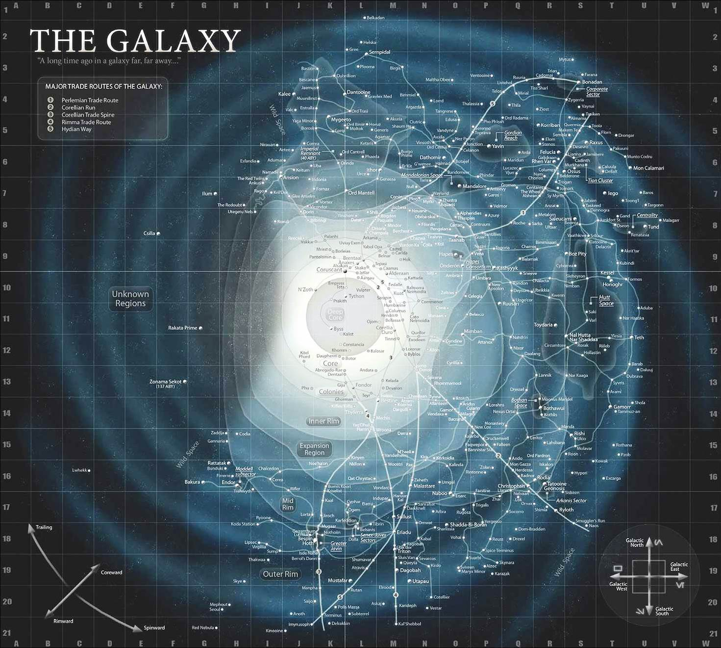 Star Wars Universe Map The galaxy | Wookieepedia | FANDOM powered by Wikia