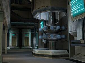 Nashal cloning facility interior