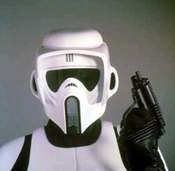 Scout Trooper close
