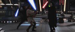 Skywalker Kenobi vs Dooku ROTS