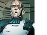 Unidentified First Order stormtrooper sergeant
