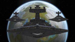 Imperial fleet above Lothal-Sw Rebels S3-Iron Squadron