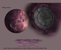 Millius Prime Laser Station