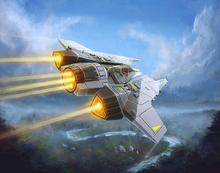 Zealous Recruit Protectorate Starfighter XWM