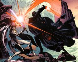 Dark Woman vs Vader
