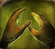 Microsensory Mesh Gloves