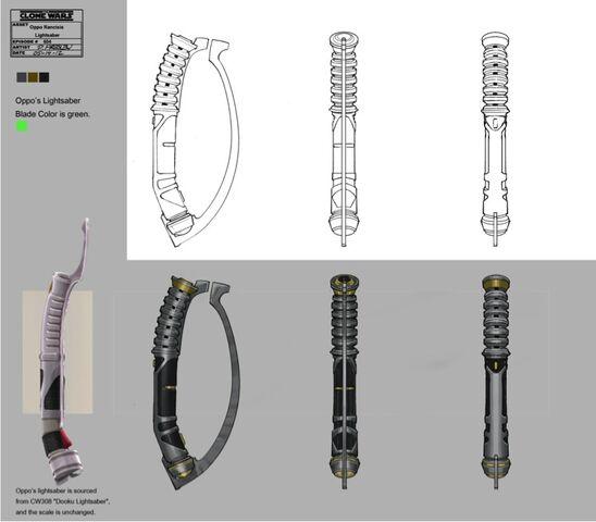 File:Oppo Rancisis lightsaber design.jpg