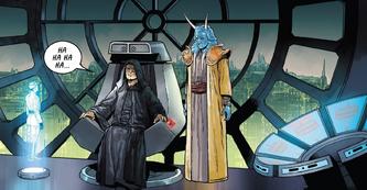 Throne Room Darth Vader 1