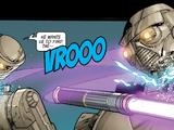 Unidentified battle droid model