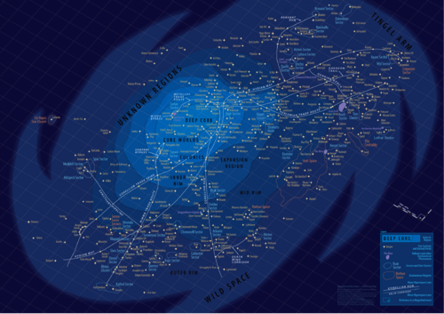 Custom SWGalaxy Map with Canon Planets V1