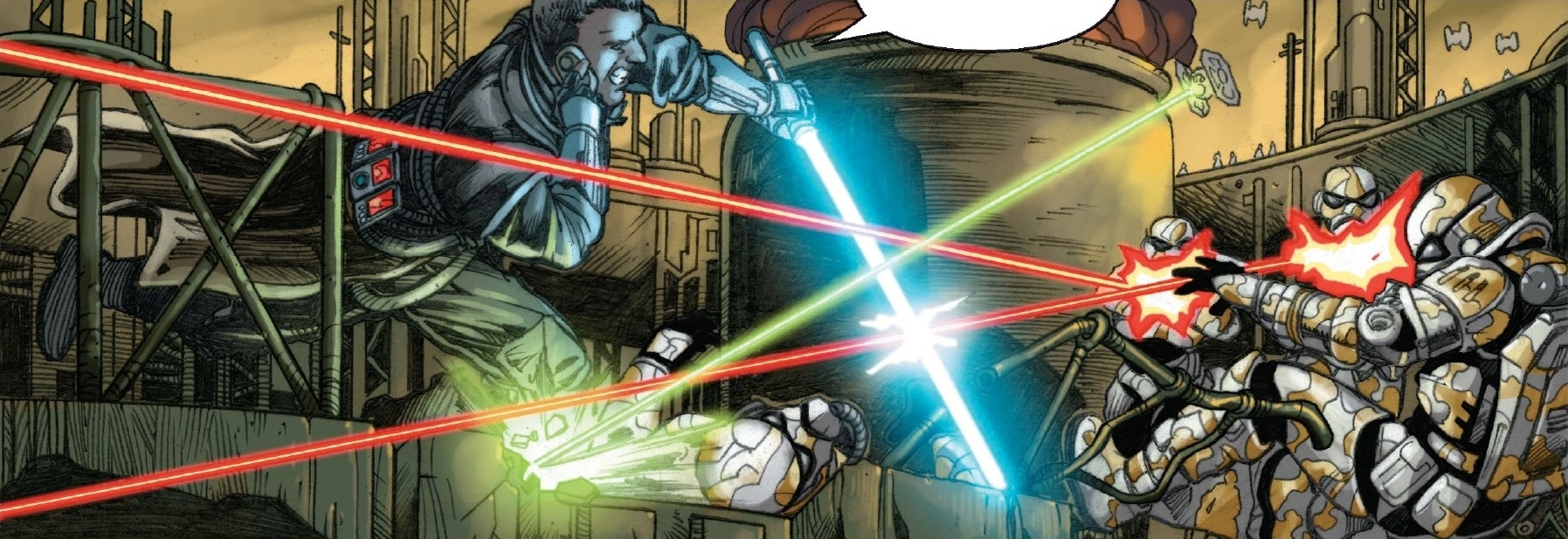 Star Wars The Force Unleashed Comic