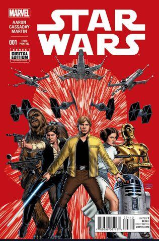 File:Star Wars Vol 2 1 3rd Printing Variant.jpg