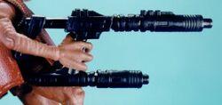 Double-barreled laser cannon Rebelscum