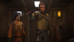Kanan directs the AT-TE