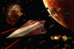 Pursuit over Geonosis