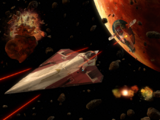 Dogfight over Geonosis