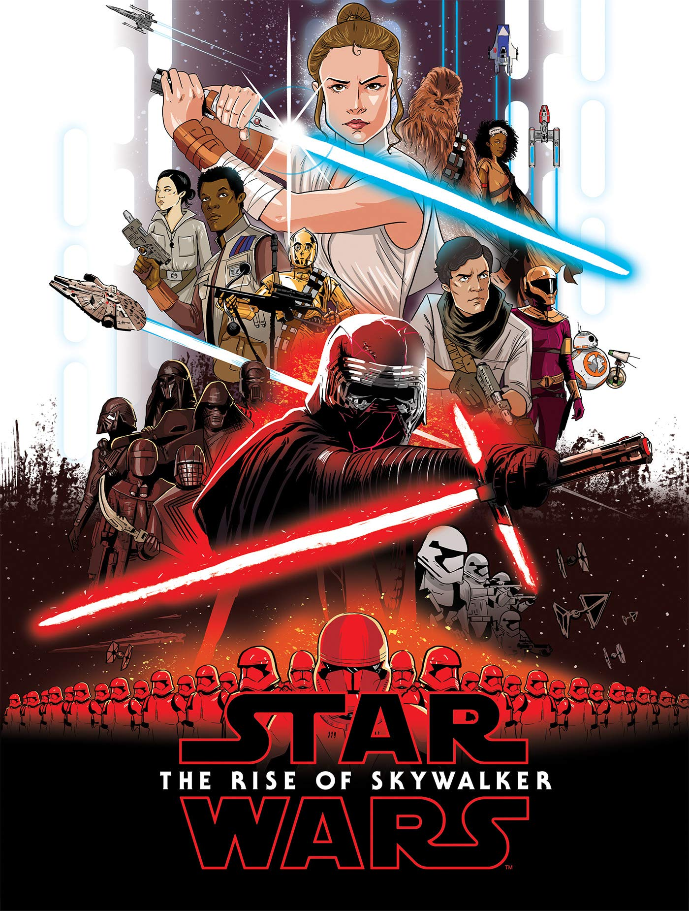 Star Wars The Rise Of Skywalker Graphic Novel Adaptation Wookieepedia Fandom