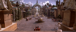 Theed Plaza