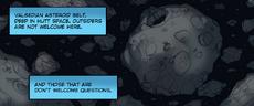 Valsedian asteroid belt