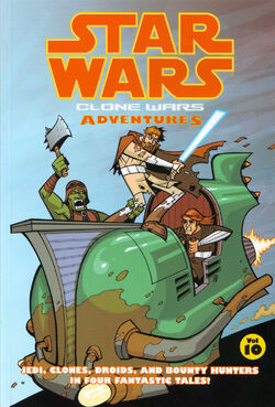 Clone Wars Adventures Volume 10