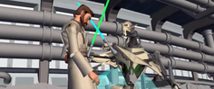 Grievous defeats Kenobi