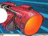 Krayn's pirate starship