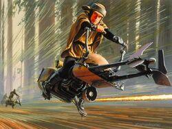 RMQ-speederbike