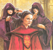 Amidala hair tending