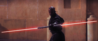 Darth Maul lightsaber reveal
