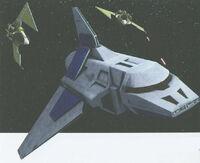 Ministry-class orbital shuttle KOTORCG