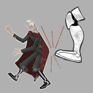 Dooku Boot nose art