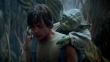 Yoda luke dagobah