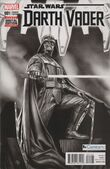 Star Wars Darth Vader Vol 1 1 Black and White Variant