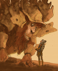 Ahsoka and Bendu